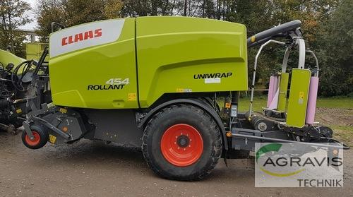 Claas Rollant 454 RC Uniwrap Рік виробництва 2017 Warburg