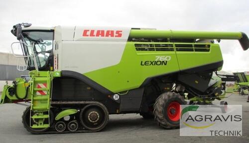 Mähdrescher Claas - LEXION 760 TERRA TRAC