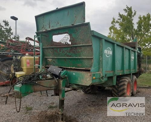 Spreader Dry Manure - Trailed Tebbe - DS 140