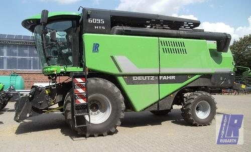 Deutz-Fahr 6095 HTS Balance Year of Build 2014 Anröchte-Altengeseke