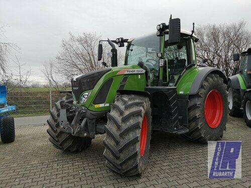 Traktor Fendt - 724 VARIO S4 PROFI PLUS