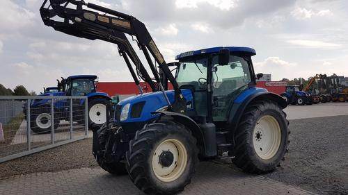 New Holland TS 125 A Frontlader Baujahr 2004
