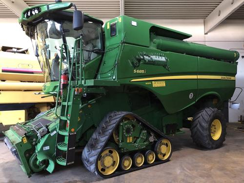 John Deere S 685i Year of Build 2014 Peine