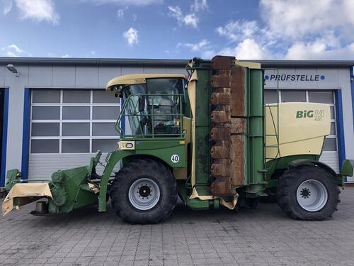 Krone Big M 420 Año de fabricación 2014 Cadenberge
