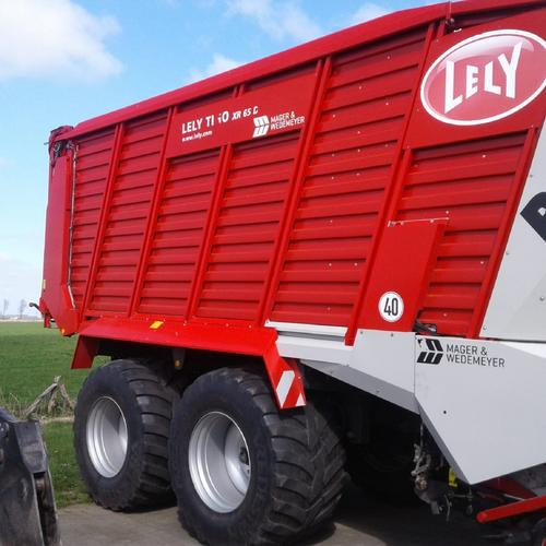 Lely Tigo Xr 65 D Year of Build 2017 Cadenberge