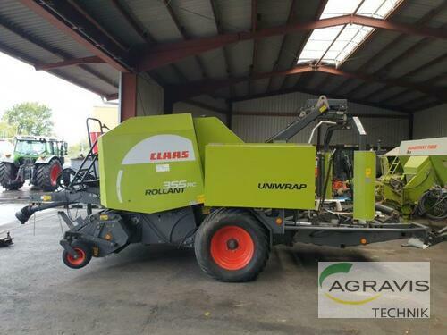 Claas Rollant 355 RC Uniwrap Baujahr 2011 Meschede-Remblinghausen