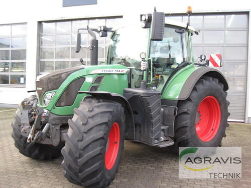 Fendt 724 Vario SCR Profi Plus Año de fabricación 2011 Accionamiento 4 ruedas