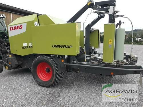Claas Rollant 375 Rc Uniwrap Año de fabricación 2015 Werl-Oberbergstraße