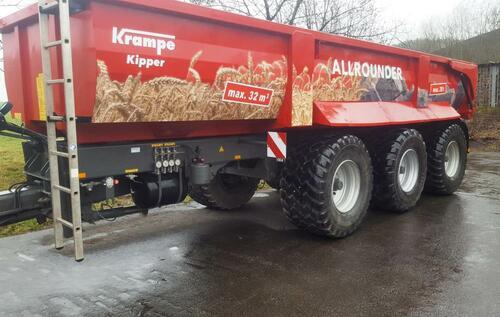 Krampe Sk 800 Anul fabricaţiei 2017 Meschede