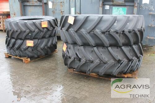 Mitas 420/70 R28 + 520/70 R38 Año de fabricación 2018 Olfen