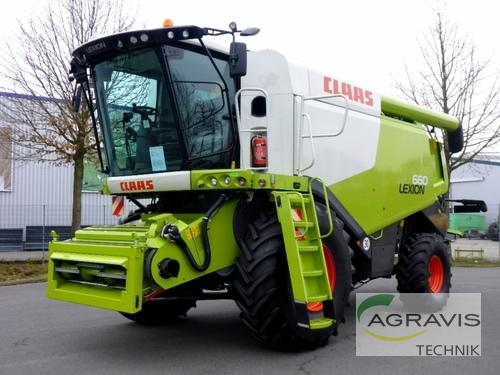 Claas Lexion 660 Year of Build 2014 Meppen