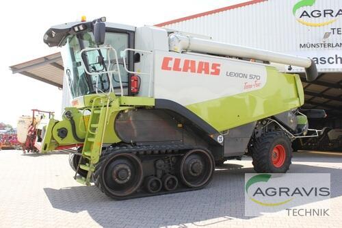 Mähdrescher Claas - LEXION 570 TERRA TRAC 4-TRAC/ ALLRAD