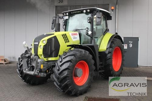 Claas Arion 660 Cmatic Cebis Årsmodell 2018 4-hjulsdrift