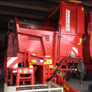 Grimme Se 85-55 Ub Baujahr 2012 Borken