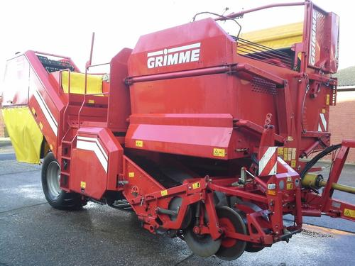 Grimme Se 85-55 Ub Årsmodell 2007 Borken