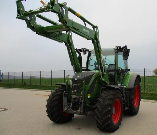 Fendt 512 Vario S4 Power Chargeur frontal Année de construction 2018