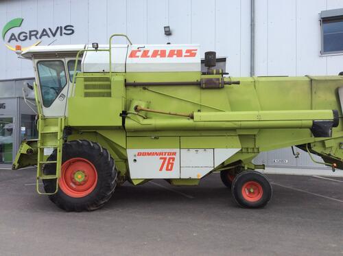 Claas Dominator 76 Årsmodell 1986 Fritzlar