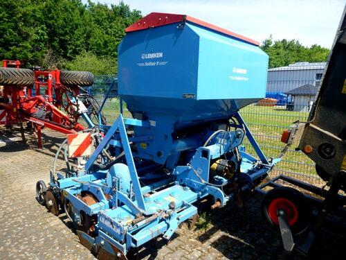 Lemken Zirkon 10/300 + Solitair 9/300 Anul fabricaţiei 2008 Freigericht