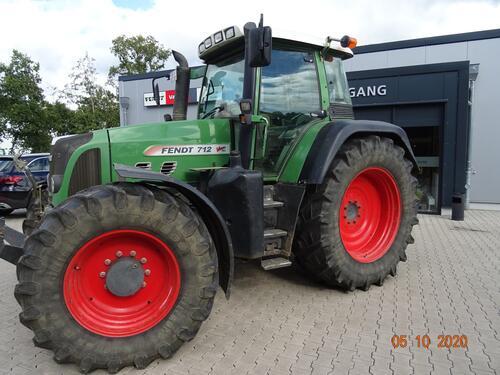 Fendt 712 Vario Year of Build 2008 Wittingen