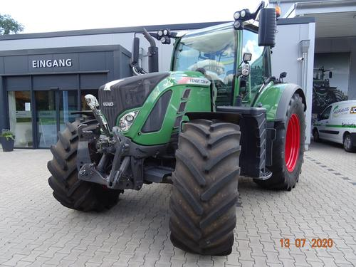 Fendt 724 Vario S4 Profi Plus Year of Build 2016 Wittingen