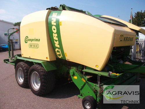 Krone Comprima Cv 150 Xc Anul fabricaţiei 2010 Gyhum-Nartum