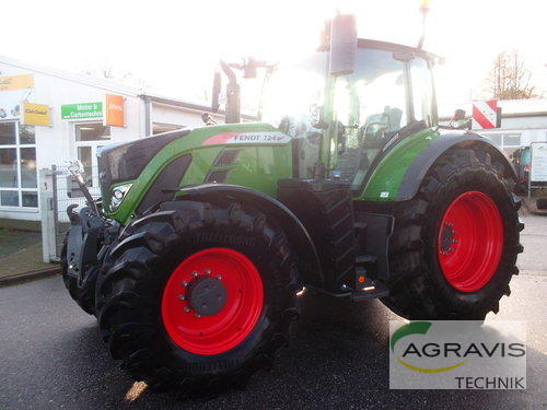 Fendt 724 Vario S4 Profi Plus Год выпуска 2019 Gyhum-Nartum