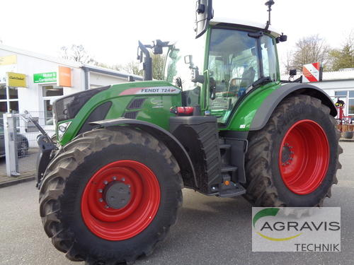 Fendt 724 Vario S4 Profi Year of Build 2019 Gyhum-Nartum