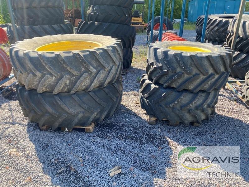 Bereifung Reifen Schläuche 600/65R38 + 540/65R24