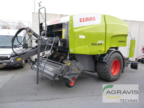 Claas Rollant 454 RC Uniwrap Année de construction 2017 Melle-Wellingholzhausen