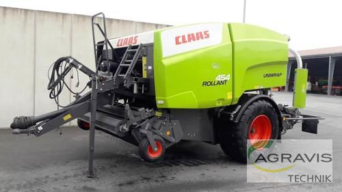 Claas Rollant 454 RC Uniwrap Year of Build 2019 Melle-Wellingholzhausen
