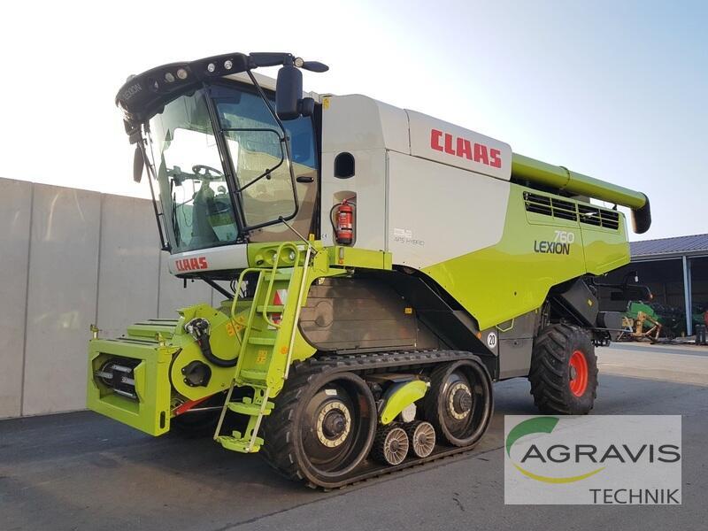 Claas LEXION 760 TERRA-TRAC
