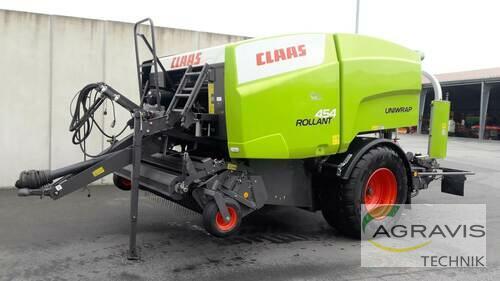 Claas Rollant 454 RC Uniwrap Byggeår 2019 Salzkotten