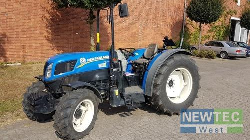 Schmalspurtraktor New Holland - T 4.75 N ALLRAD/BÜGEL