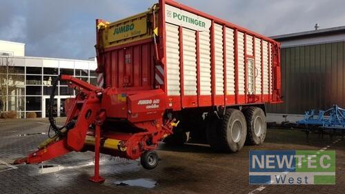 Lade- & Silierwagen Pöttinger - JUMBO 6610 D COMBILINE