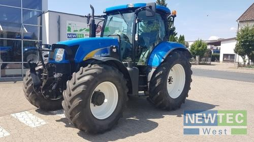 New Holland T 6070 Elite Frontlastare Årsmodell 2011
