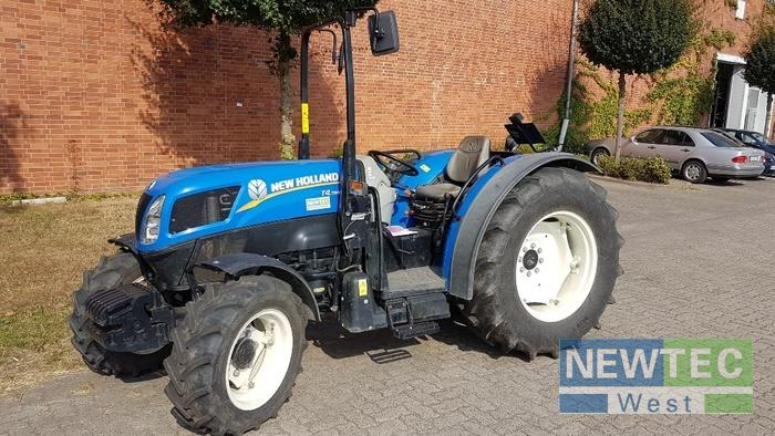 New Holland T 4.75 N ALLRAD/BÜGEL