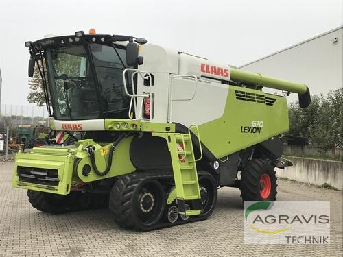 Claas Lexion 670 Terra Trac Baujahr 2018 Alpen