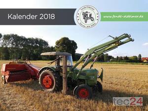 Traktor Fendt Oldtimer Kalender 2018 Bild 0