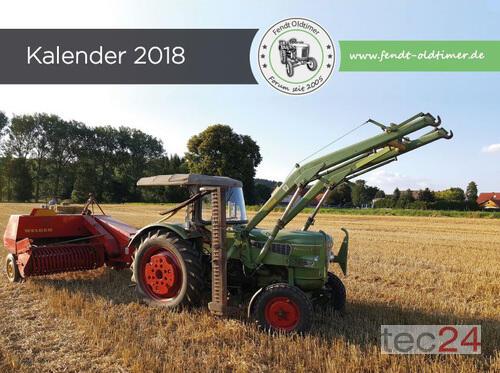 Traktor Fendt - Oldtimer Kalender 2018