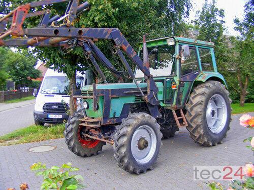 Deutz-Fahr 7206 Frontlader+Lenkhilfe caricatore anteriore 4 Trazione Ruote