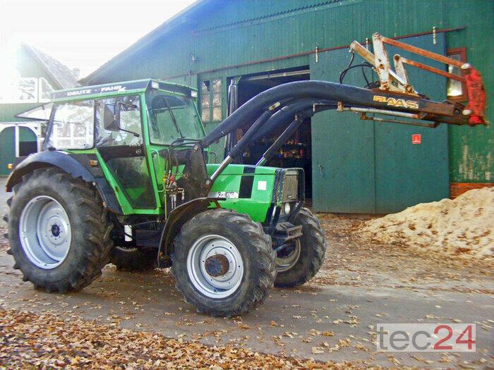 Hochwertige Gartenmobel Edelstahl : DeutzFahr DX 86 + Frontlader gebrauchter Traktor
