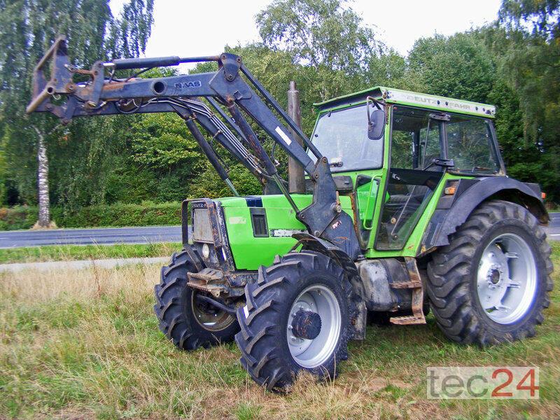 Deutz fahr dx frontlader druckluft traktor gebraucht