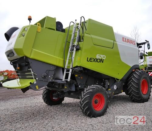 Claas Lexion 670 Montana Baujahr 2015 Östringen