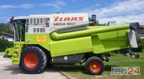 Claas Mega 360 Έτος κατασκευής 2008 Κίνηση σε όλους τους τροχούς