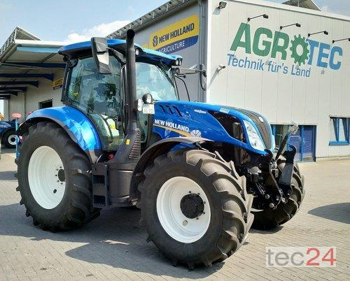 New Holland T6.145 Ac Gefederte Vorderachse Årsmodell 2018 4-hjulsdrift