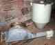 Förderband Dosierschnecke mit Futtersilo