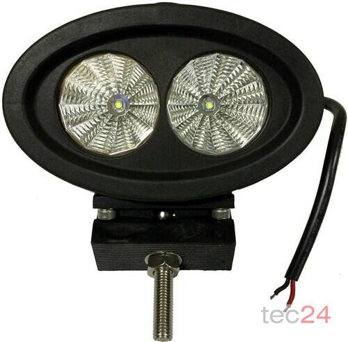 Zubehör TraktorLED 20 Watt LED Scheinwerfer Blau Bild 2