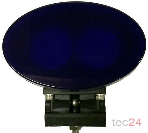 TraktorLED 20 Watt LED Scheinwerfer Blau