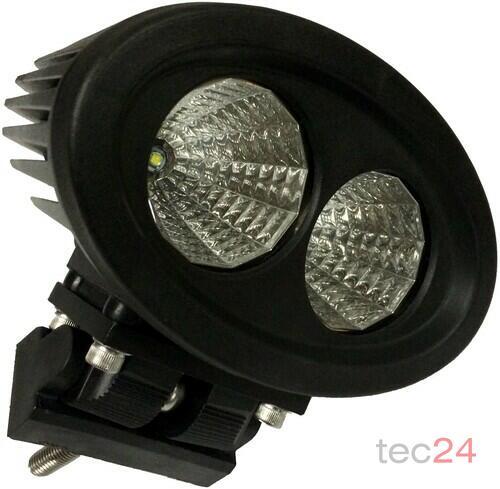 Zubehör TraktorLED 20 Watt LED Scheinwerfer Blau Bild 4