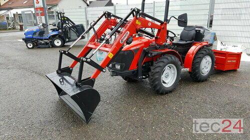 Carraro Tigre4000mit Transportmulde Frontlæsser Byggeår 2018